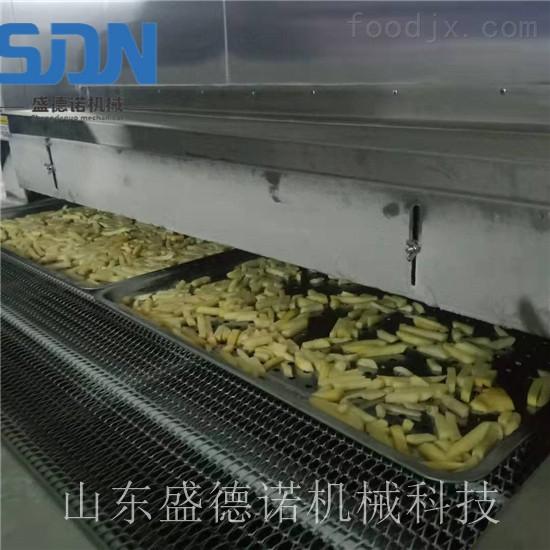 速冻薯条薯片加工生产线
