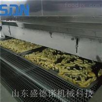 连续式速冻薯条整套加工设备