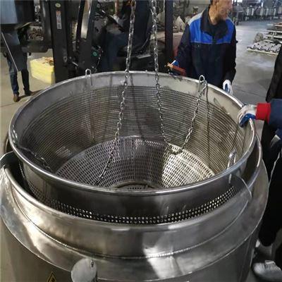 1200圆形带吊笼煮肉锅电加热式