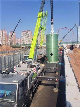 湖北荆门一体化预制泵站