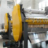 浆糊滚筒烘干机,蒸汽加热滚筒刮板干燥机