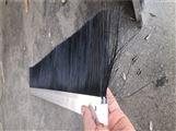 门业密封排刷 汽车门底挡尘刷 地铁门挡灰刷