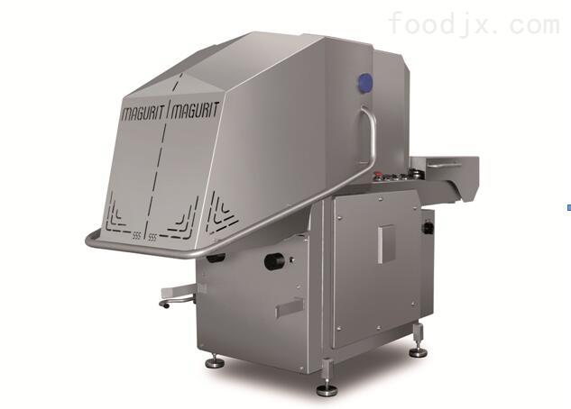 工业型冻肉切丁 带骨切块 冻骨切割设备