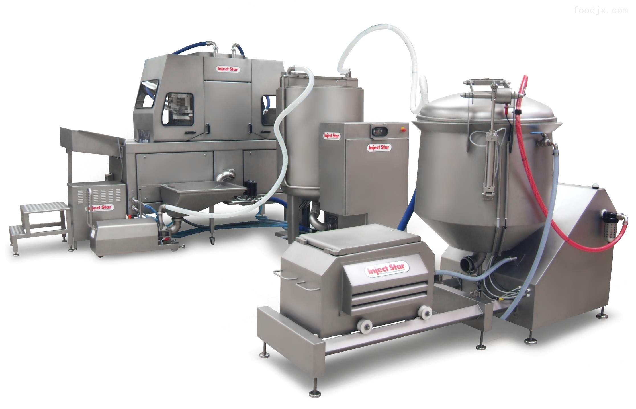 肉制品注射星 带骨肉注射机 水产注射设备