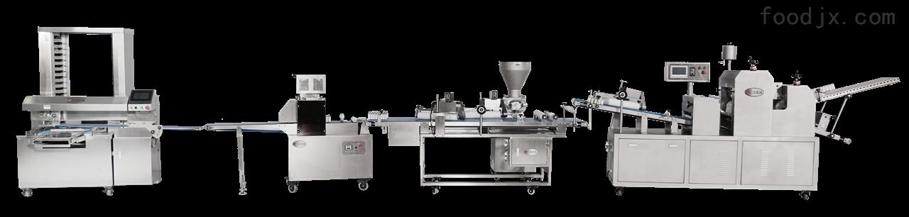 自动化汉堡生产成套设备