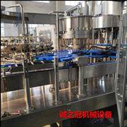 全自动不锈钢玻璃瓶果汁灌装机