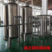 CGF24-24-8全自动瓶装饮料生产设备kuang泉shui三he一灌装ji