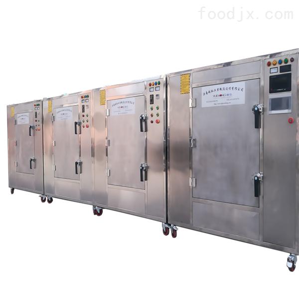 黑豆微波烘焙熟化烘干设备