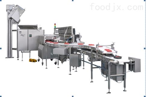 连续式肉糜分份生产线 动肉馅分份设备