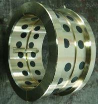 青铜基镶嵌石墨铜套轴承