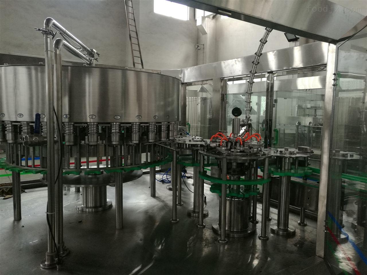 不锈钢全自动消毒液灌装生产线