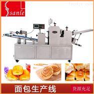 全自动肉松饼生产线