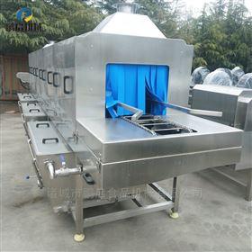 食品厂肉筐清洗机 大型洗筐机