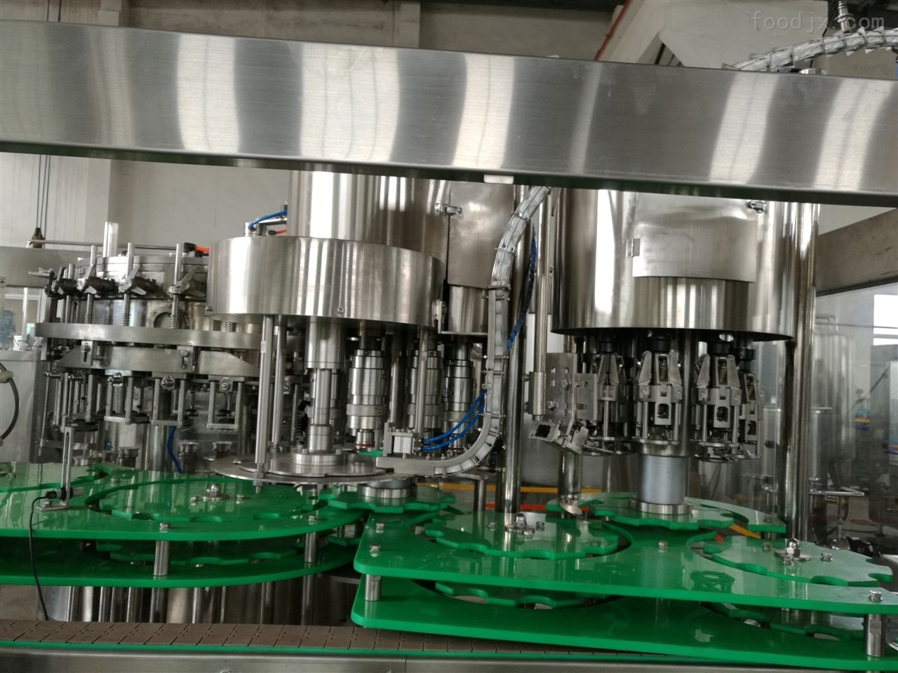 盐汽水灌装生产线