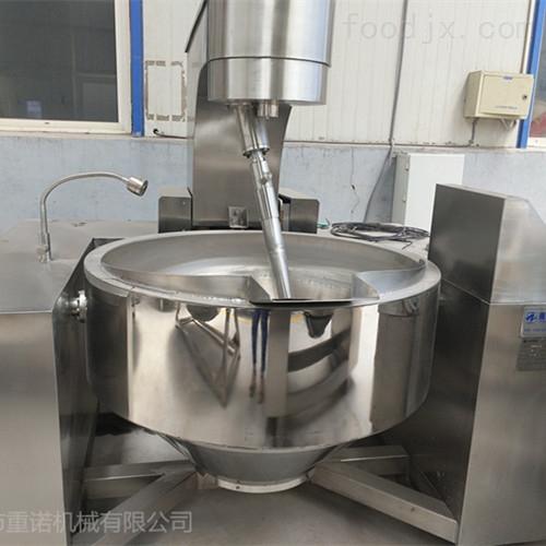 中央厨房行星搅拌炒锅是怎样炒五香花生米的
