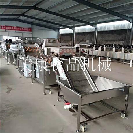厂家供应蔬菜清洗机-叶类蔬菜专用价格直销