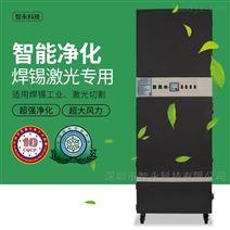 激光加工橡胶异味烟尘处理�设备排烟机