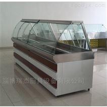 瑞杰2米(mi)長直(zhi)冷(ling)式熟食保鮮櫃