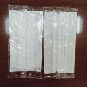 QD-350三层熔喷布口罩枕式包装机 平面口罩生产线