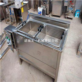 YZ食品加工设备厂家~全自动小型电加热油炸机