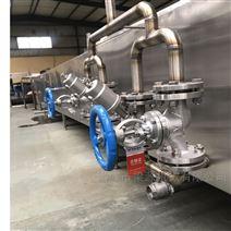 梁源機械供應全自動肉丸成型蒸煮流水線設備