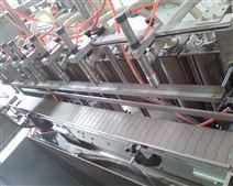 多用途食品生產設備六頭液體自流式直線灌裝機