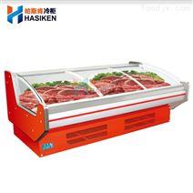 敞開式熟食櫃鮮肉櫃一體機