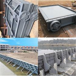 多功能鋼制結構方形閘門