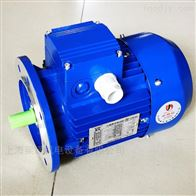 0.75KW台州中研MS8012紫光三相异步电机