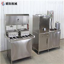 豆腐機150磨漿機+60錐形桶+兩盒精裝成型機