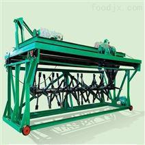 畜禽粪便4米液压槽式翻堆机处理能力
