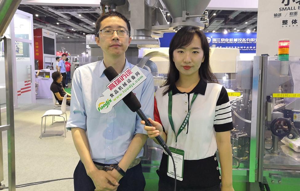 foodjx专访锦岸机械科技江苏有限公司