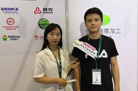 foodjx专访象山绿缘轻工机械制造厂