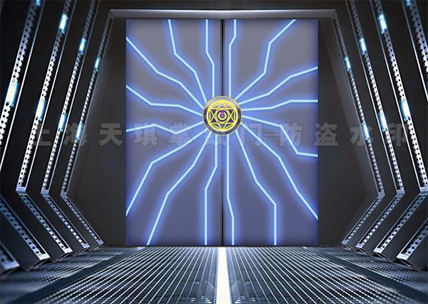 科幻掌纹门