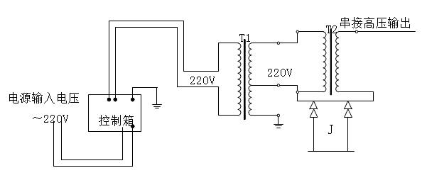 工频试验变压器原理图